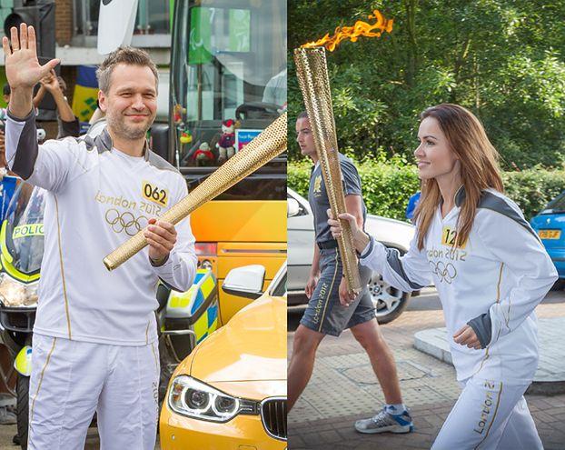 Żmuda i Żebrowski ze zniczem olimpijskim! (ZDJĘCIA)