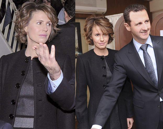 Żona dyktatora Syrii robi zakupy w Harrodsie!