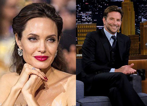 """Angelina Jolie i Bradley Cooper mają się ku sobie? """"Angie nie może przestać o nim myśleć"""""""