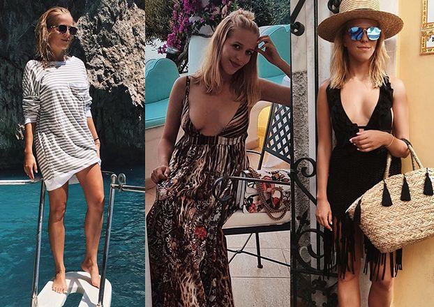 Jessica Mercedes pokazuje nogi na Capri (FOTO)