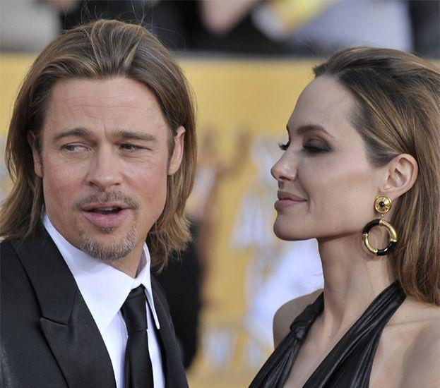 """Brad Pitt: """"Angelina nadal jest niegrzeczną dziewczynką"""""""