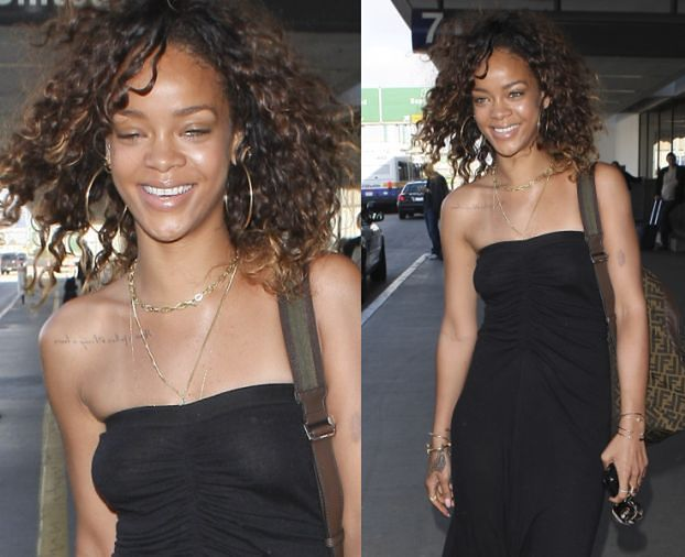 Rihanna bez makijażu!