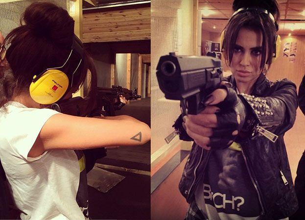 Natalia Siwiec na strzelnicy... (ZDJĘCIA)