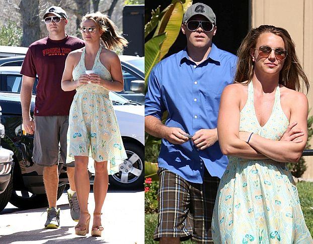 Britney z nowym chłopakiem! (ZDJĘCIA)