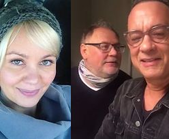 """Tom Hanks śpiewa Polce """"Sto lat""""! To ona znalazła dla niego Malucha"""
