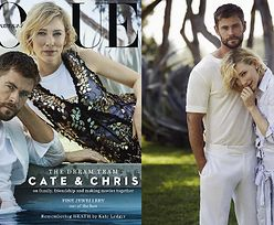 "Cate Blanchett i Chris Hemsworth pozują dla ""Vogue'a"""