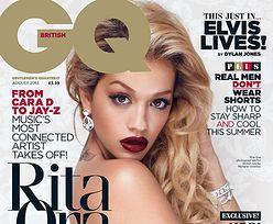 Rita Ora NAGA W FUTRZE!