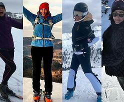 Modny strój narciarski - stylizacje gwiazd