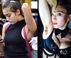 Córka Madonny nie goli pach... jak matka!