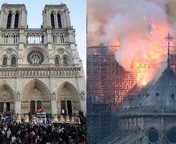 Płonie katedra Notre Dame w Paryżu! Zawaliła się iglica kościoła (ZDJĘCIA)