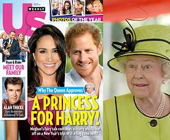 """""""US Weekly"""": """"Królowa Elżbieta jest zachwycona wybranką Harry'ego"""""""