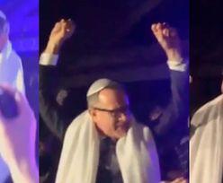 Tom Hanks w przebraniu rabbiego tańczy na weselu!