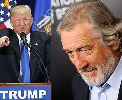 """Robert De Niro o wygranej Trumpa: """"Czuję się jak po zamachu na World Trade Center"""""""