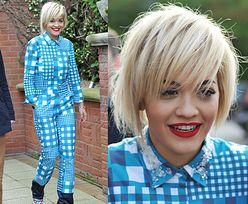Rita Ora w kombinezonie w kratę!