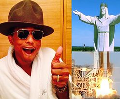 Pharrell Williams w nowym teledysku wysyła w kosmos... JEZUSA ZE ŚWIEBODZINA!