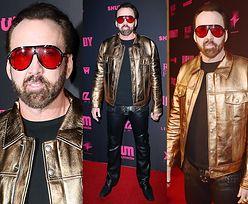 54-letni Nicolas Cage powraca w złotej skórze od Toma Forda