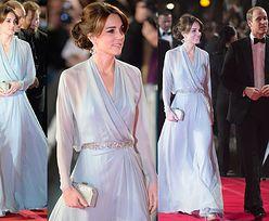 Kate Middleton BEZ STANIKA na premierze nowego Bonda! (ZDJĘCIA)