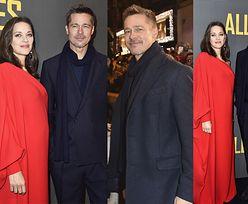Brad Pitt z ciężarną Marion Cotillard na premierze w Paryżu (ZDJĘCIA)