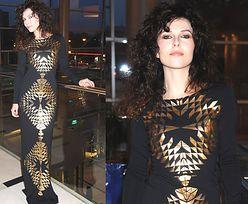 Ramona Rey w czarnej sukni! SEKSOWNA?
