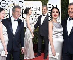 Mel Gibson z ciężarną dziewczyną na Złotych Globach (ZDJĘCIA)