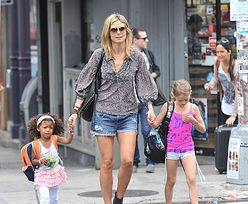 Heidi Klum z córkami! BĘDĄ PIĘKNE?