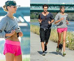 Anja i Sasha biegają nad Wisłą! (ZDJĘCIA)