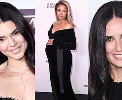 """Kendall Jenner, ciężarna Ciara i Demi Moore z córkami na imprezie """"Harper's Bazaar"""""""