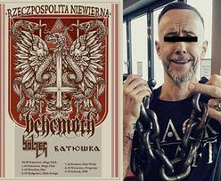Lider Behemotha ZOSTAŁ OSKARŻONY o znieważenie polskiego godła!
