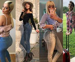 Które gwiazdy wybierają jeansy push up?