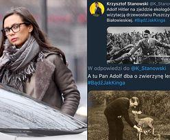 """Prawica atakuje Kingę Rusin za słowa o Hitlerze: """"Czy się pani SUFIT NA ŁEB NIE SPIE*DOLIŁ?"""""""