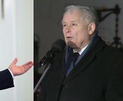 """Kaczyński na miesięcznicy smoleńskiej: """"Chwała tym, którzy walczyli o prawdę. Na czele z Macierewiczem!"""""""