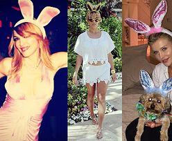 Gwiazdy z uszkami na Wielkanoc! (ZDJĘCIA)