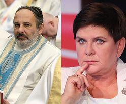 """Ks. Isakowicz-Zaleski krytykuje postawę syna Beaty Szydło: """"Winien sam wyjaśnić wycofanie się z posługi"""""""