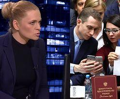 """Nowacka: """"Mamy festiwal selfie na sali sejmowej. A ludzie na ulicy marzną w geście solidarności z posłami!"""""""