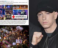 Eminem zebrał prawie DWA MILIONY FUNTÓW na pomoc ofiarom zamachu w Manchesterze!
