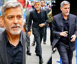 57-letni George Clooney wypełnia służbowe obowiązki w Nowym Jorku