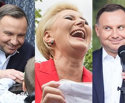 """Zadowoleni Dudowie """"pomagają z radością"""" na pikniku w Brańszczyku (FOTO)"""