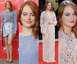 Emma Stone w dwóch stylizacjach na festiwalu w Wenecji