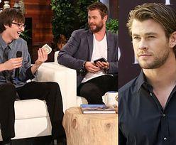 Nastolatek znalazł portfel Chrisa Hemswortha. Dostał w nagrodę 10 tysięcy dolarów!