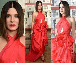 """""""Drapieżna"""" Sandra Bullock w dziwnej sukni za 12 tysięcy"""
