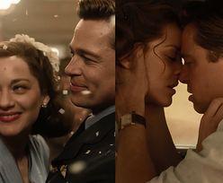 Brad Pitt i Marion Cotillard całują się w zwiastunie nowego filmu!