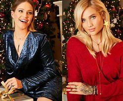 Karolina Gilon i Zosia Ślotała w świątecznej kampanii