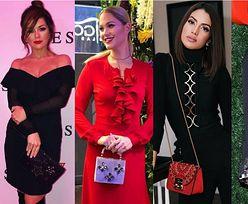 Piękne torebki biżuteryjne - jakie wybierają celebrytki?