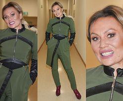 Monika Jarosińska szczerzy zęby w przerażającym uśmiechu (FOTO)