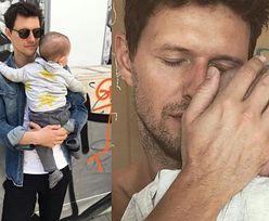 """Sasha Knezevic pokazał zdjęcie z partnerką i synkiem. """"Widać, że szczęśliwa rodzinka"""" (FOTO)"""