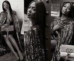 Zjawiskowa Naomi Campbell snuje się po metrze w nowej kampanii Valentino