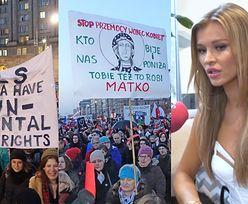"""Krupa wspiera Polki: """"Powinnyśmy same decydować o swoim życiu. Jestem za kobietami!"""""""