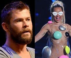 """Chris Hemsworth namawia Liama żeby rzucił Miley! """"To nie jest materiał na żonę"""""""