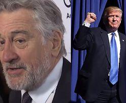 "Robert De Niro o wygranej Trumpa: ""Mam depresję"""