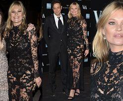 Kate Moss w koronkach na wystawie Alexandra McQueena! (ZDJĘCIA)